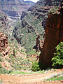 roaring springs canyon from supai tunnel (grand canyon)